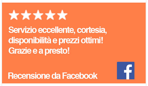 recensioni da facebook