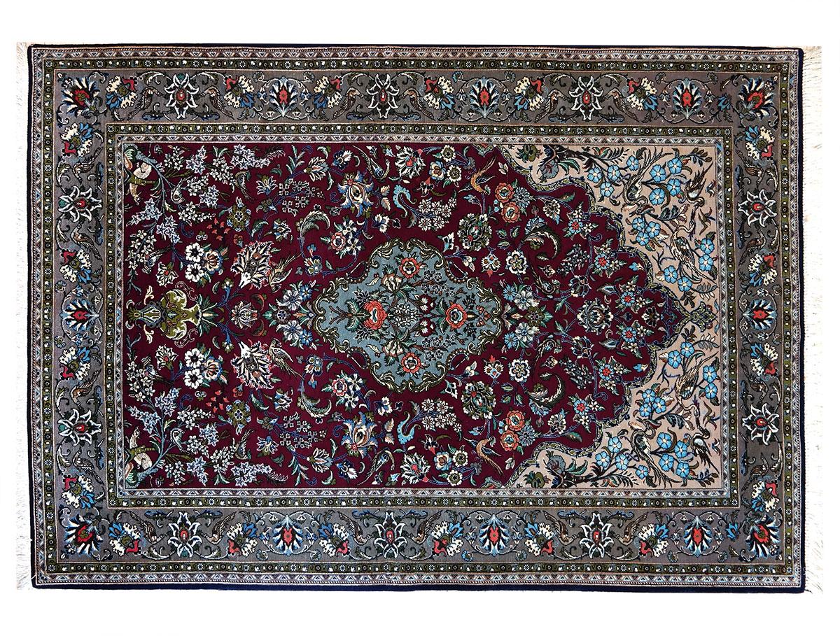 Tappeto qum kork 332 shop irana tappeti - Tipi di tappeti ...