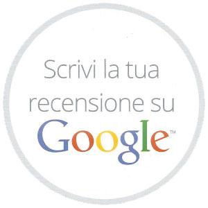 scrivi la tua recensione sulla nostra pagina di google