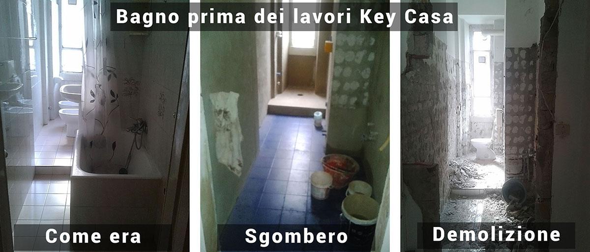 Ristrutturazione bagni key casa service s r l - Ristrutturazione bagno a milano ...