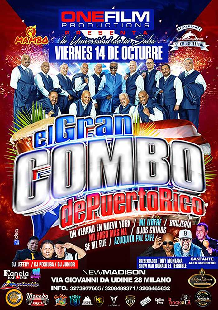 el gran combo concerto new madison