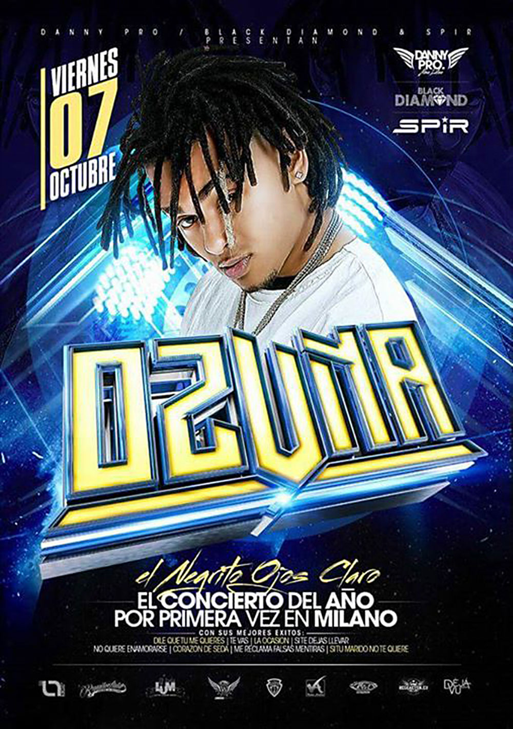 locandina concerto Ozuna New Madison