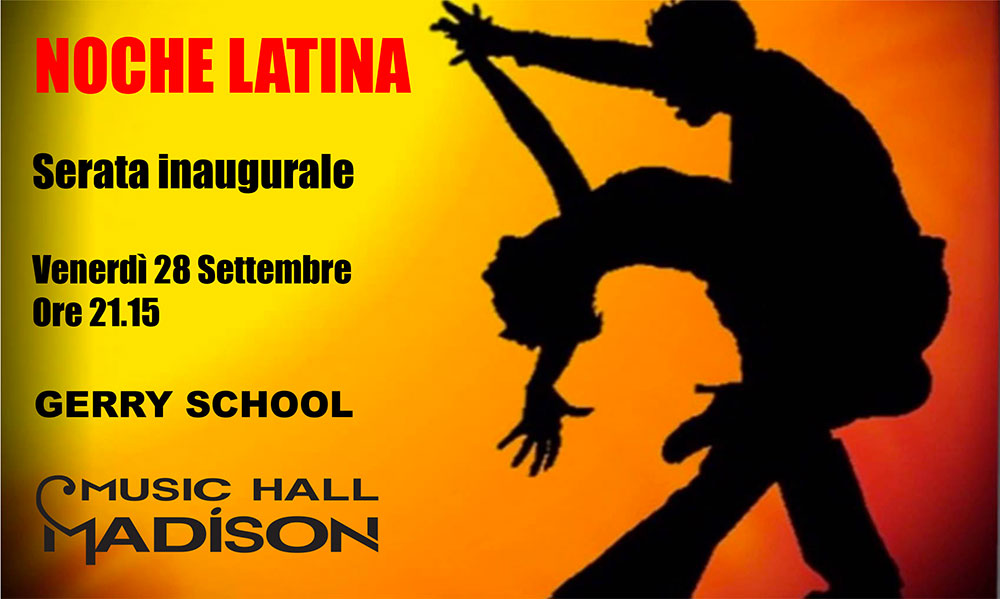 corso ballo latino americano Milano Madison