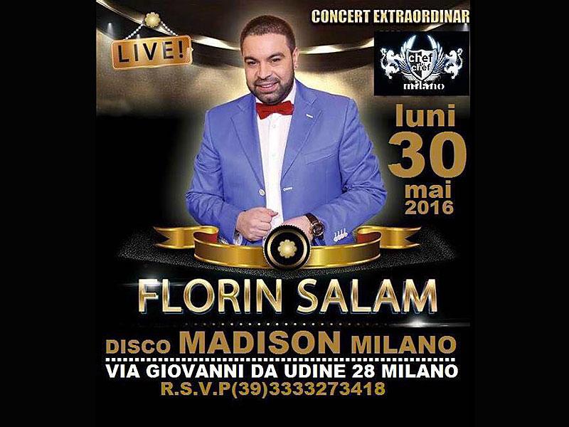 florin salam in concerto a milano