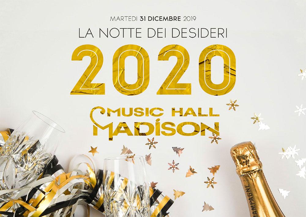 programma capodanno al Madison a Milano
