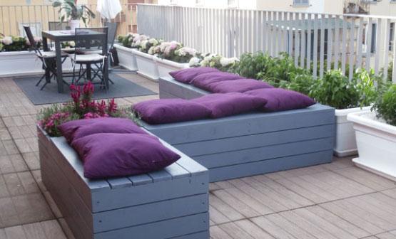 Allestimento terrazzi a milano photo gallery garden - Terrazzi arredati e fioriti ...