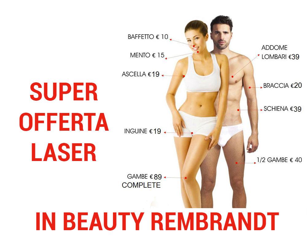 offerta depilazione laser milano