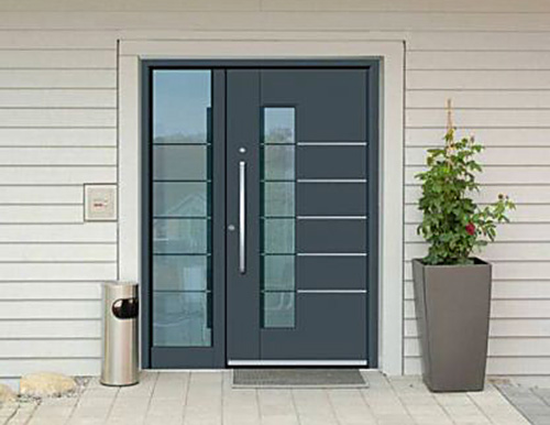 Portoni condominiali e porte d ingresso inotherm photo for Finestra basculante