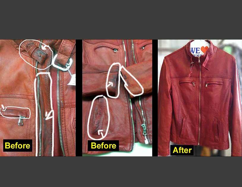 Riparazione giacche pelle milano