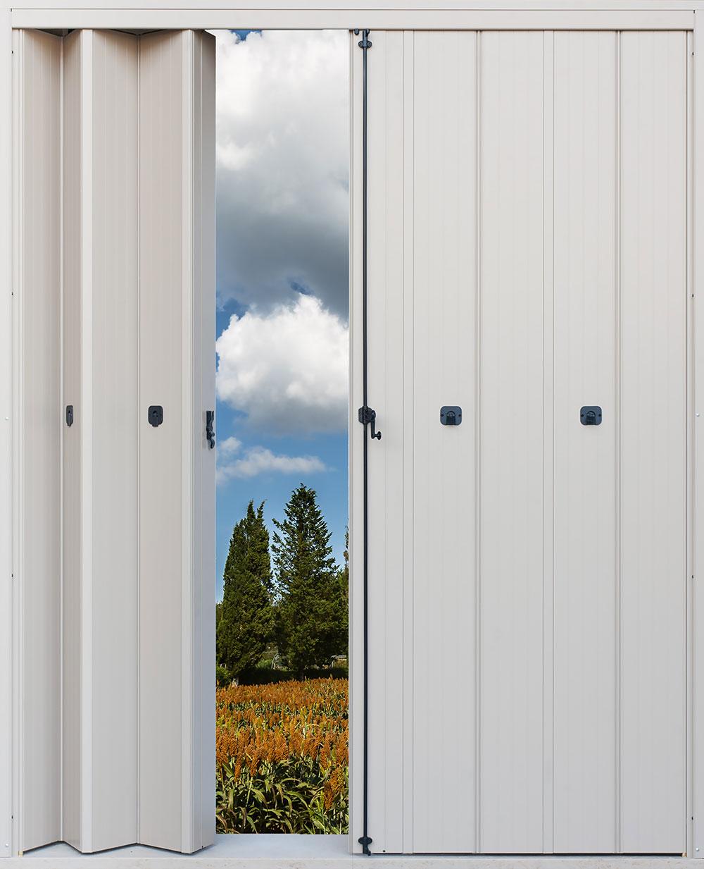 Ante a pacchetto minipack md alluminio - Porte finestre a libro ...