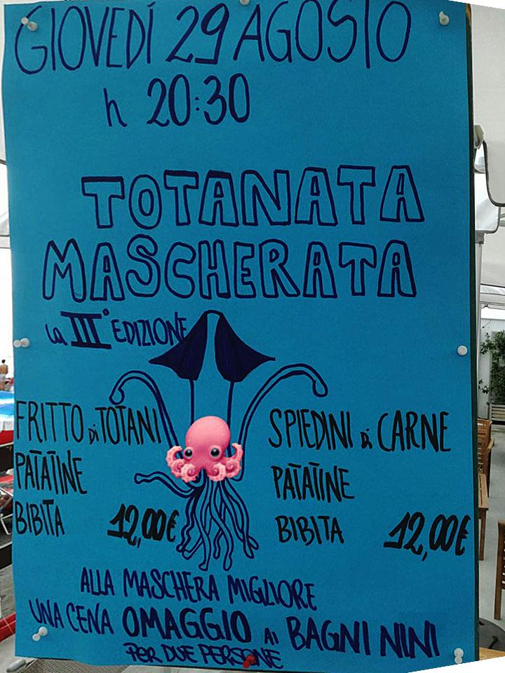 Totanata Mascherata 2019