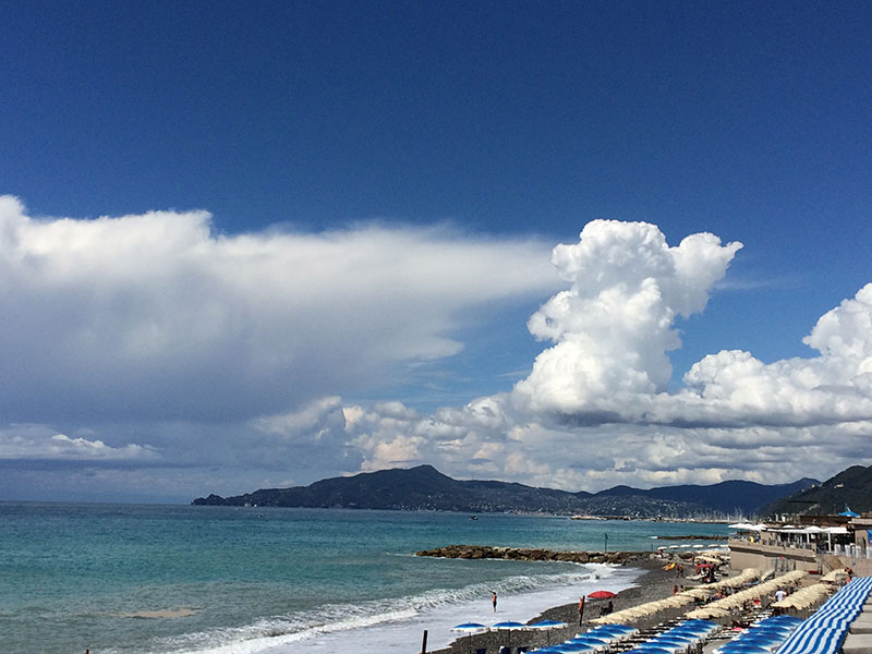 beach in Lavagna