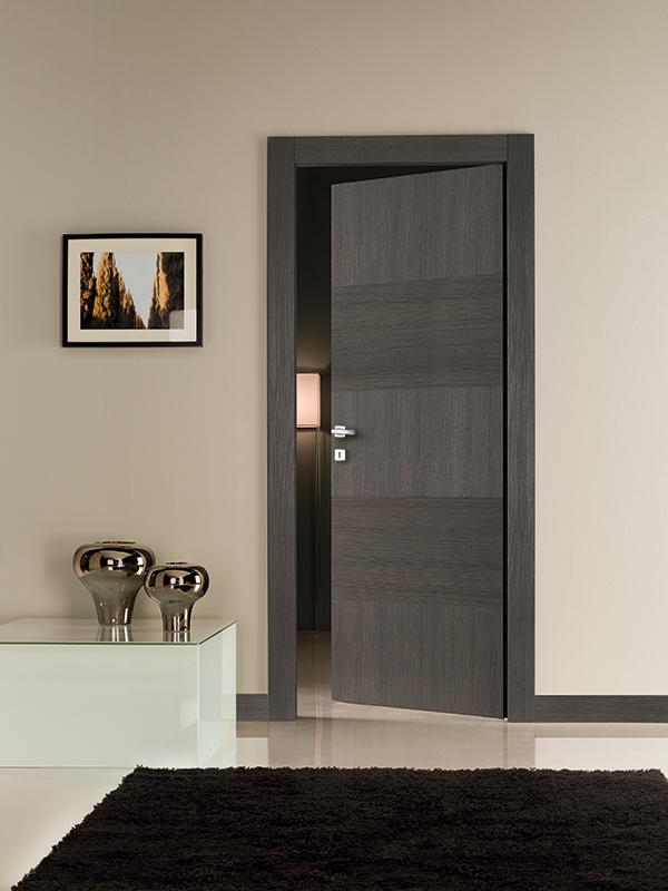 Porte per interni bari collezione scratch photo gallery mizzi franco infissi - Porte interne rovere grigio ...