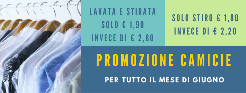 promozione lavanderia milano
