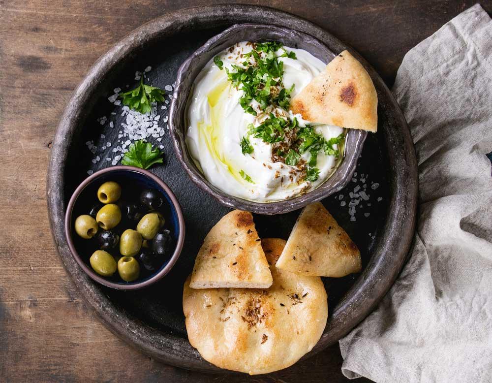 antipasto persiano del nostro ristorante persiano a milano