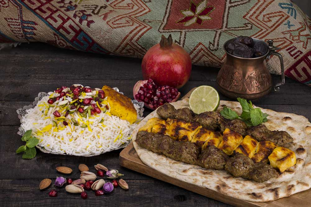 secondo persiano del nostro ristorante persiano a milano