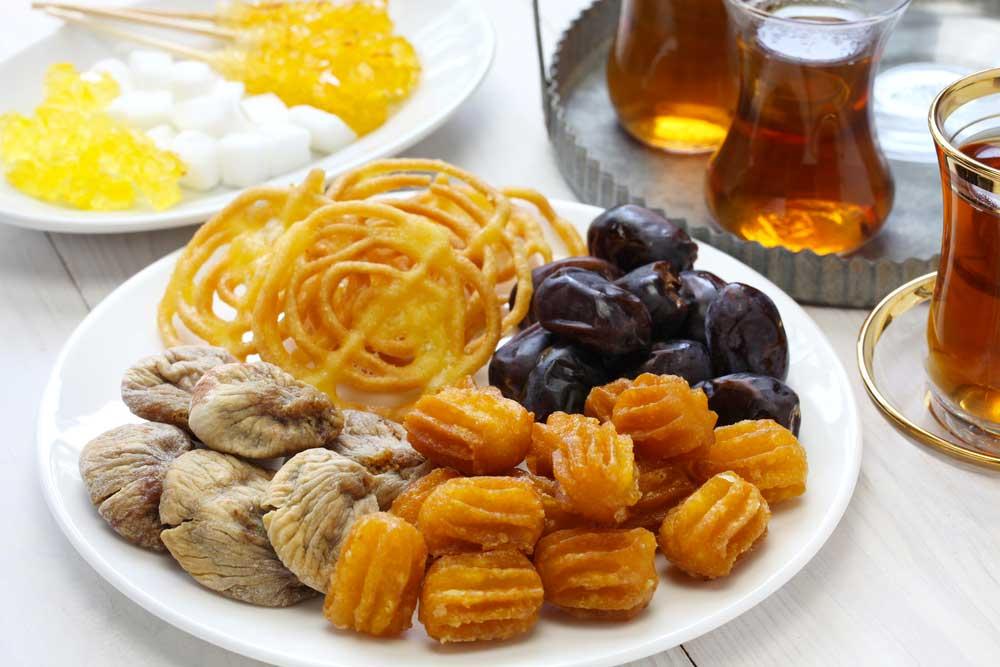 dolce persiano del nostro ristorante persiano a milano