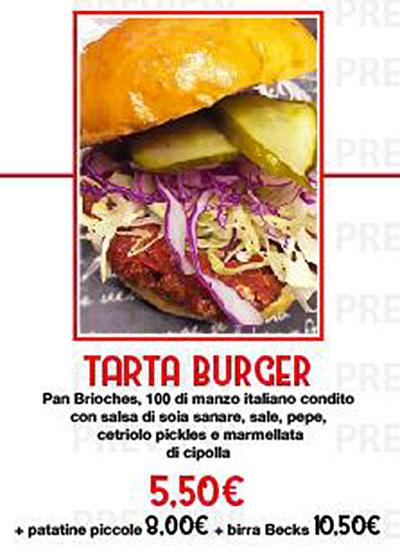 i nostri hamburger