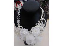 collana bianca