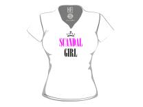 T-shirt Donna Scandal