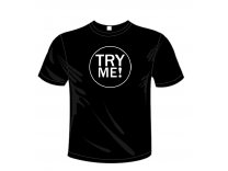 T-shirt Uomo Try Me