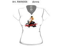 T-shirt Donna Moto