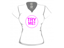 T-shirt Donna Try Me