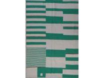 8335 - Kilim Kaudani green