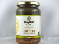 Lenticchie in brodo vegetale