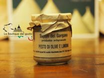 Pesto Olive e limoni 180g