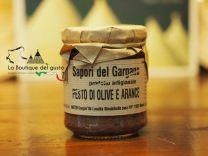 Pesto olive e arance 180g