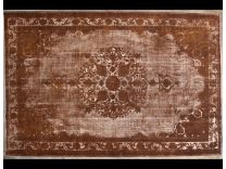 Vintage broccato brown 214x320 cm