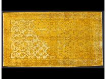 Vintage broccato yellow 213x118 cm