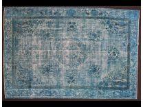 Vintage broccato blue 210x312 cm
