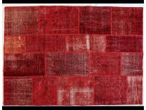 Patchwork Rosso