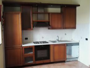 La cucina prima della sostituzione.