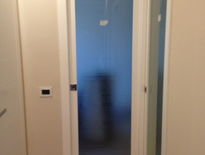 Porte interne legno scorrevoli interno muro