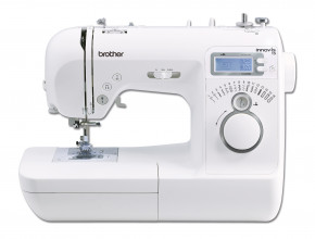 Innov-is 15 la macchina elettronica perfetta se si cuce per la prima volta! Usare Innov-is 15 è davvero semplice poiché dotata della manopola di selezione