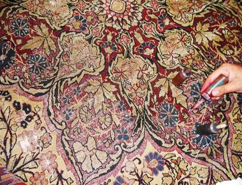 Riparazione tappeti persiani galleria tabriz - Valore tappeto persiano ...