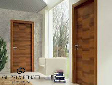 PORTE INTERNE IN LEGNO MASSELLO > Ser Al Tenda