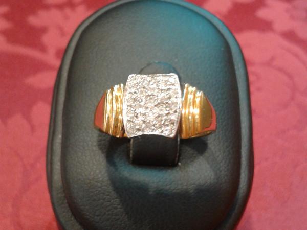 Anello con diamanti immagine 0