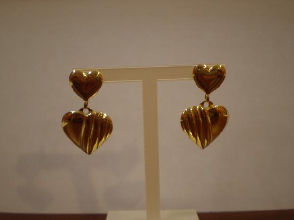 Orecchini a cuore immagine 2