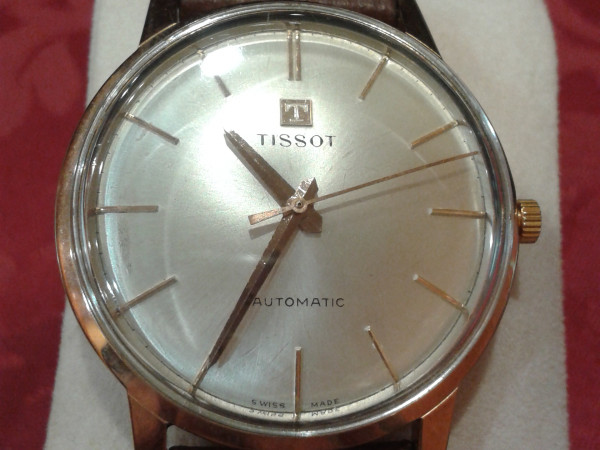Orologio Tissot in oro immagine 0