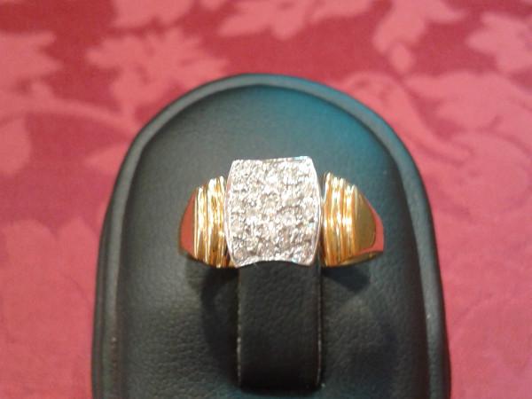 Anello con diamanti immagine 3