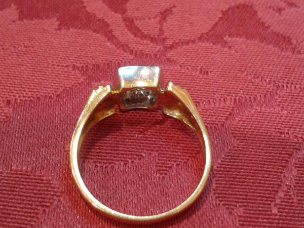 Anello con diamanti immagine 1