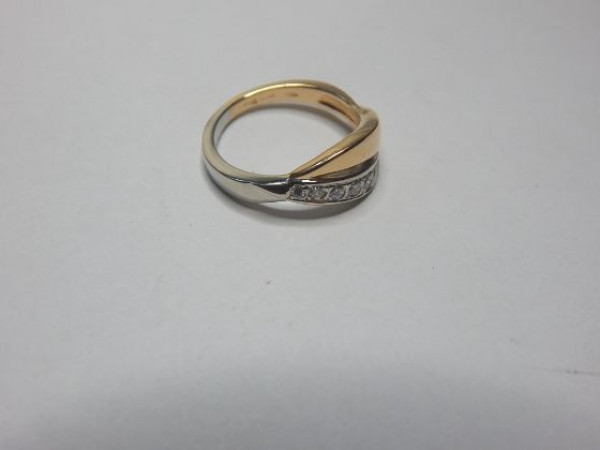 Anello con diamanti immagine 4