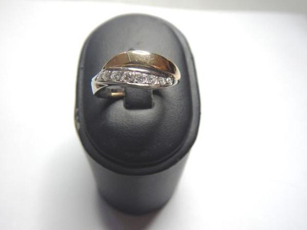 Anello con diamanti immagine 2