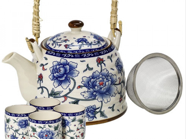 Set da tè BLUE FLOWER immagine 0