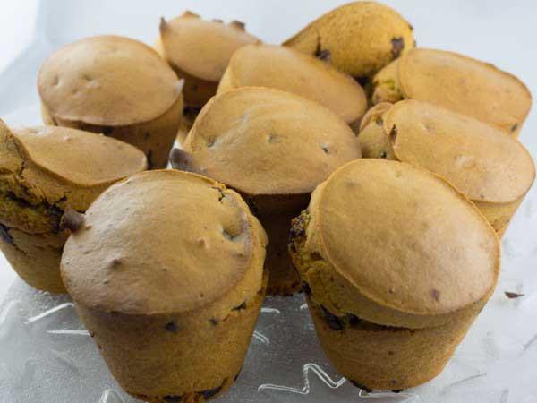 Muffin Quinoa e Cioccolato 6pz immagine 1