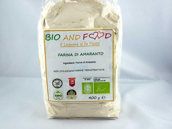 Farina di Amaranto Bio 400 gr immagine 0